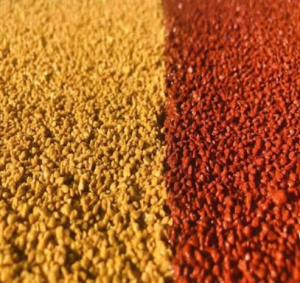 彩色路面陶瓷颗粒的防滑系数