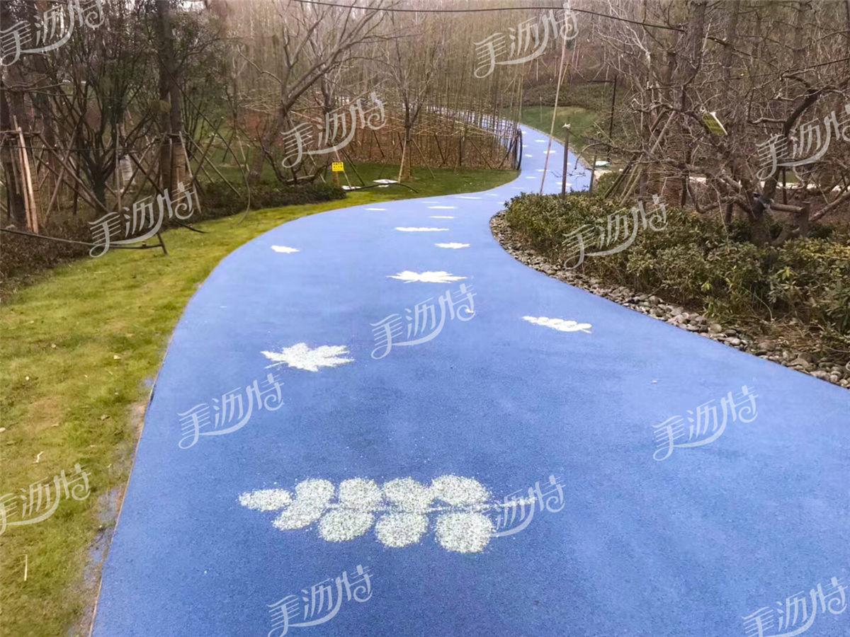 彩色陶瓷颗粒防滑路面的应用范围