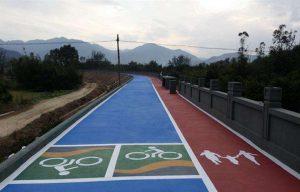影响彩色防滑路面粘合剂使用效果的原因